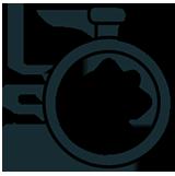 Fast turnaround time icon