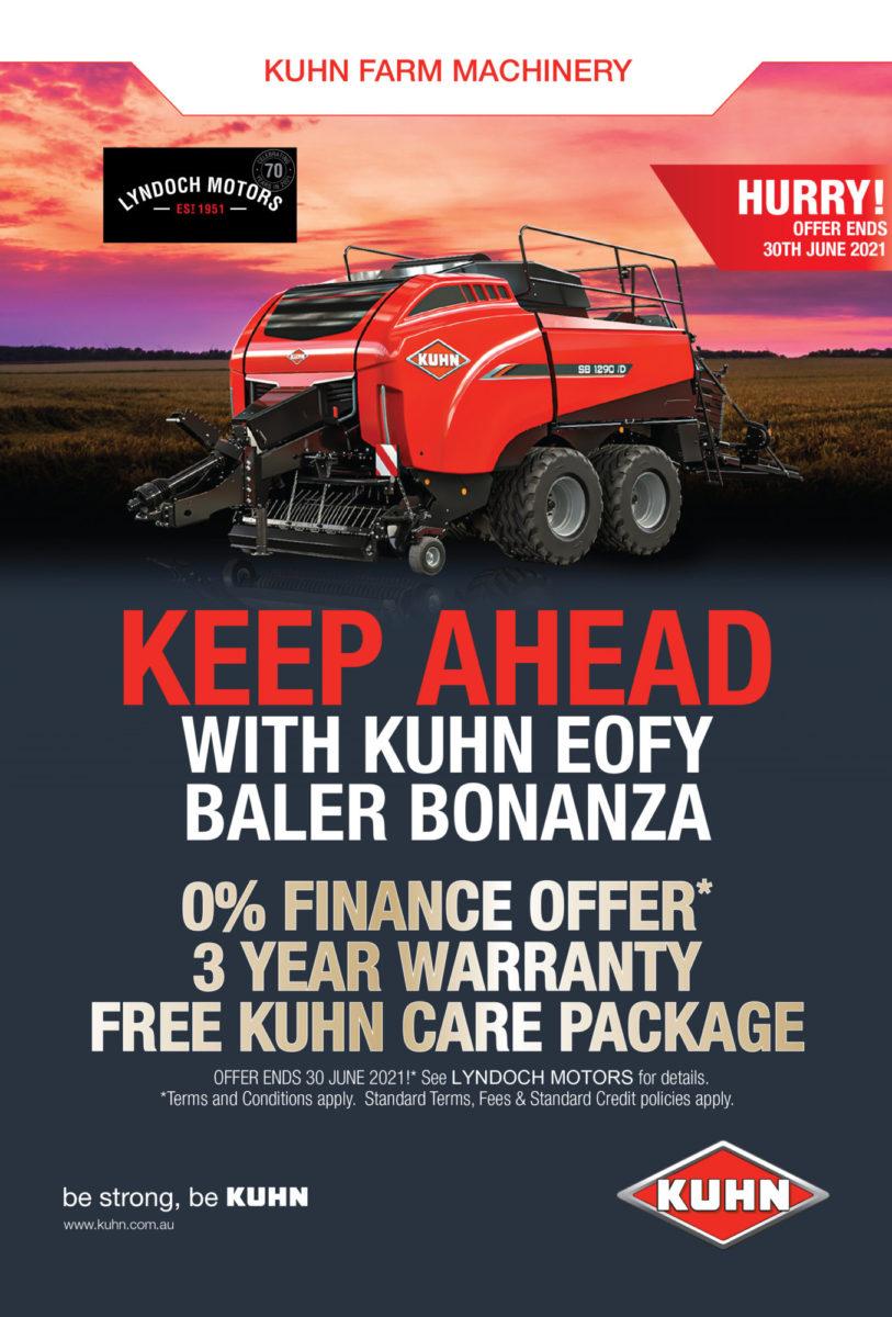 Kuhn EOFY Baler Bonanza
