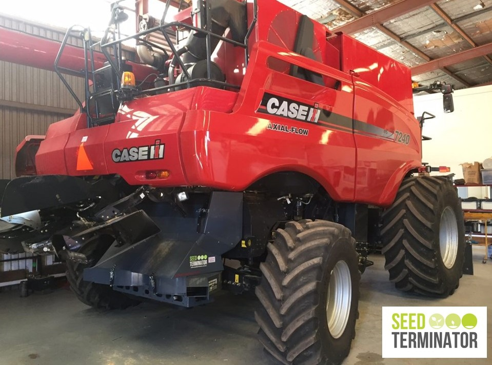 Lyndoch Motors and Seed Terminator working together